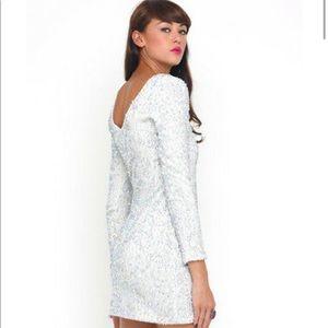 Motel Rocks Gabby dress in white Size: XS